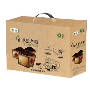"""中粮""""山萃黑粮""""礼盒"""