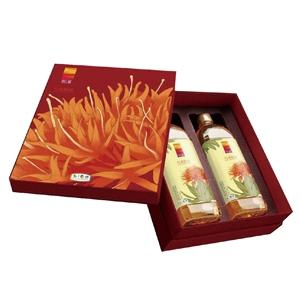 中粮-悦润纯红花籽油礼盒