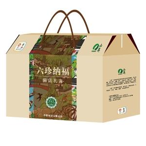 """中粮-山萃""""六珍纳福"""" 菌菇礼盒"""