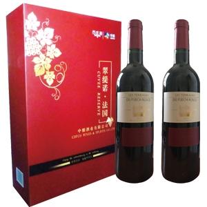 法国进口翠缇若干红葡萄酒礼盒(中粮原瓶进口)