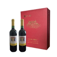 中粮—法国进口卡普锐斯·香吻  干红葡萄酒礼盒