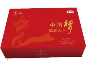 """中茶""""中国梦""""福润天下茶叶礼盒"""