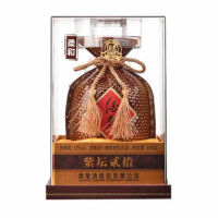 中粮52度紫坛酒鬼酒(20年)