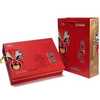京华脸谱小叶花茶礼盒500g